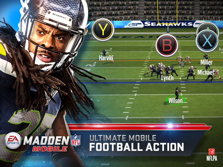 Madden NFL Mobile Free App Game By Electronic Arts