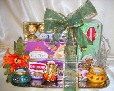 Boston Gift baskets Indian Diwali gifts