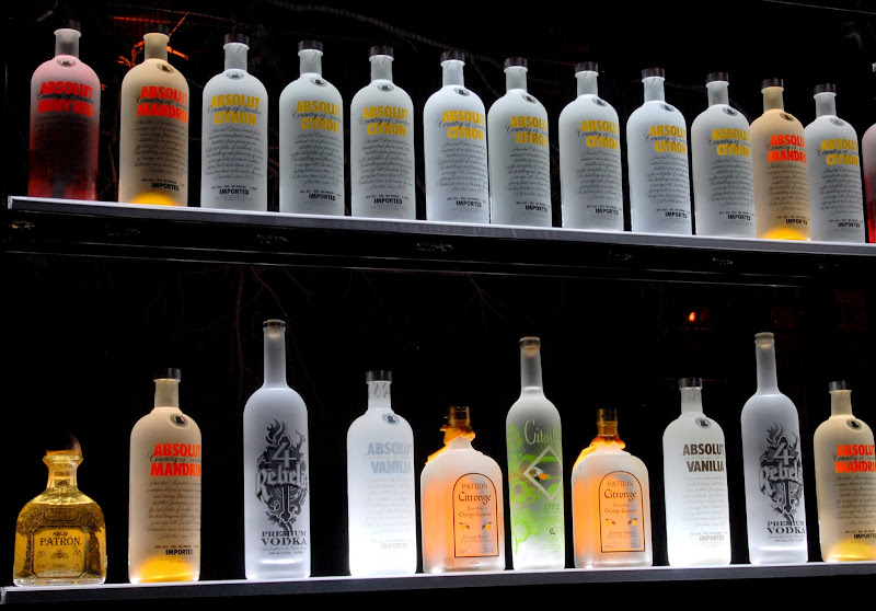 Liquor Display Shelf