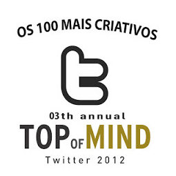 Top of Mind Twitter 2011 - Os 100 mais criativos