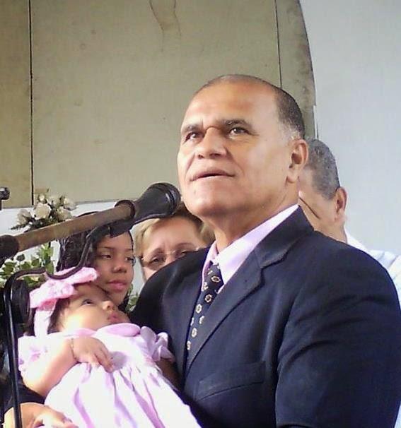 PR. WALDEMAR VIEIRA, da Igreja batista do Grotão, Penha-RJ.