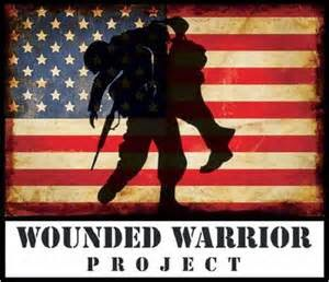 A Proud Supporter Of The Wounded Warrior Project