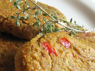 Chickpea Patties Smothered in Vegetable Gravy