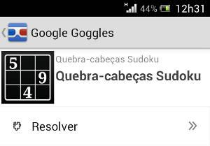 Como resolver um Sudoku em 30 Segundos - Google Goggles