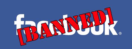 Konten terlarang Facebook