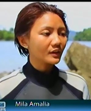 Mila Amalia si cantik reporter Metro TV
