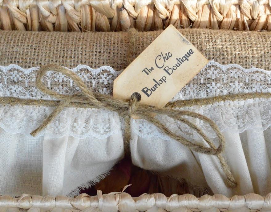 The Chic Burlap Boutique Blog