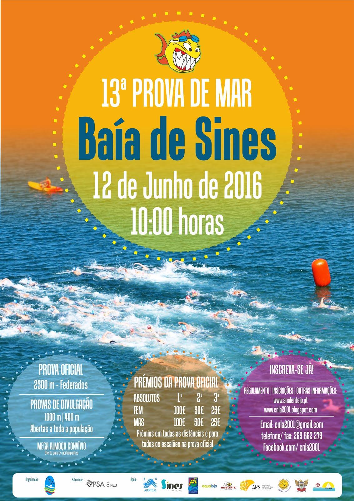 13ª Prova de Mar Baía de Sines - 12 Junho