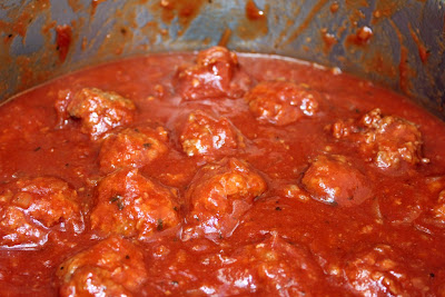 Baking Ribbons: Passover Sweet and Sour Meatballs