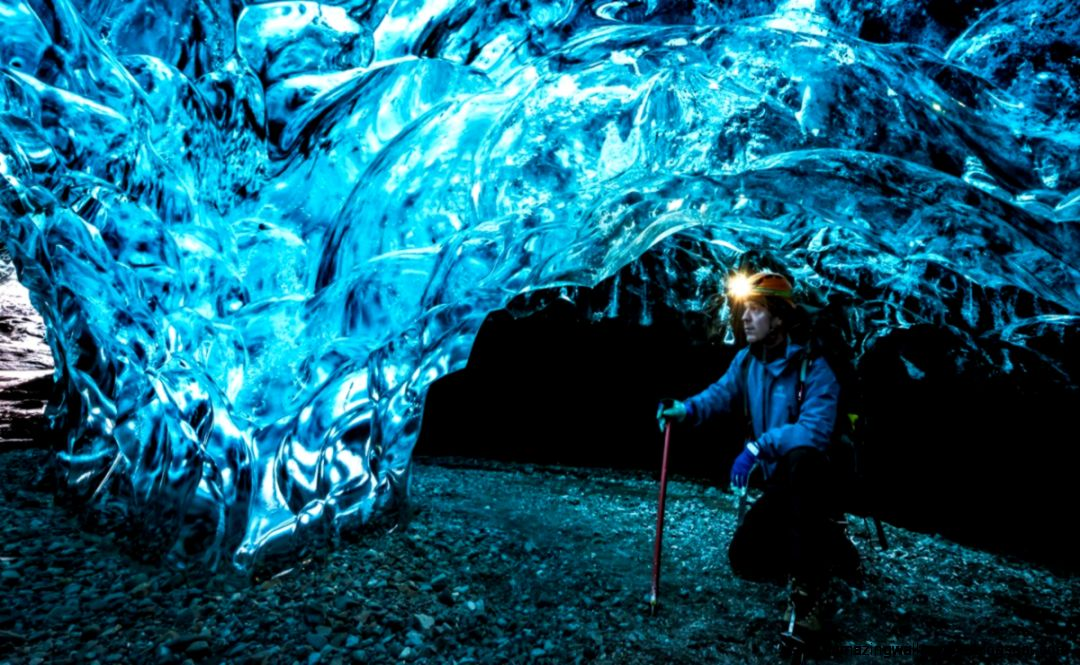 Ice Caves  Tunnels in Iceland   Ice Caving in Icelandic glaciers