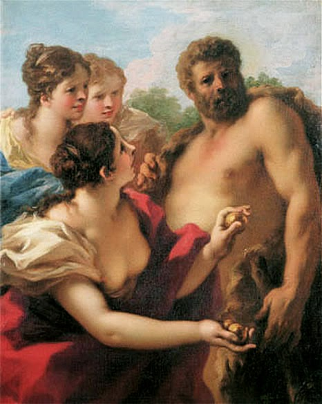 Hercules with the Hesperides