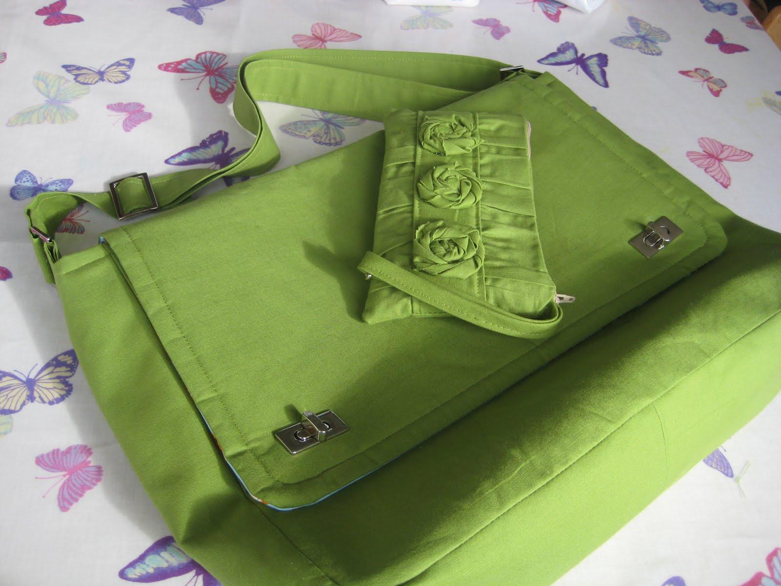 kitchen table sewing ephalant bag mummy