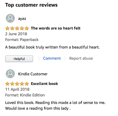 SOME REVIEWS FOR 'AN ANGEL'S FEATHER'
