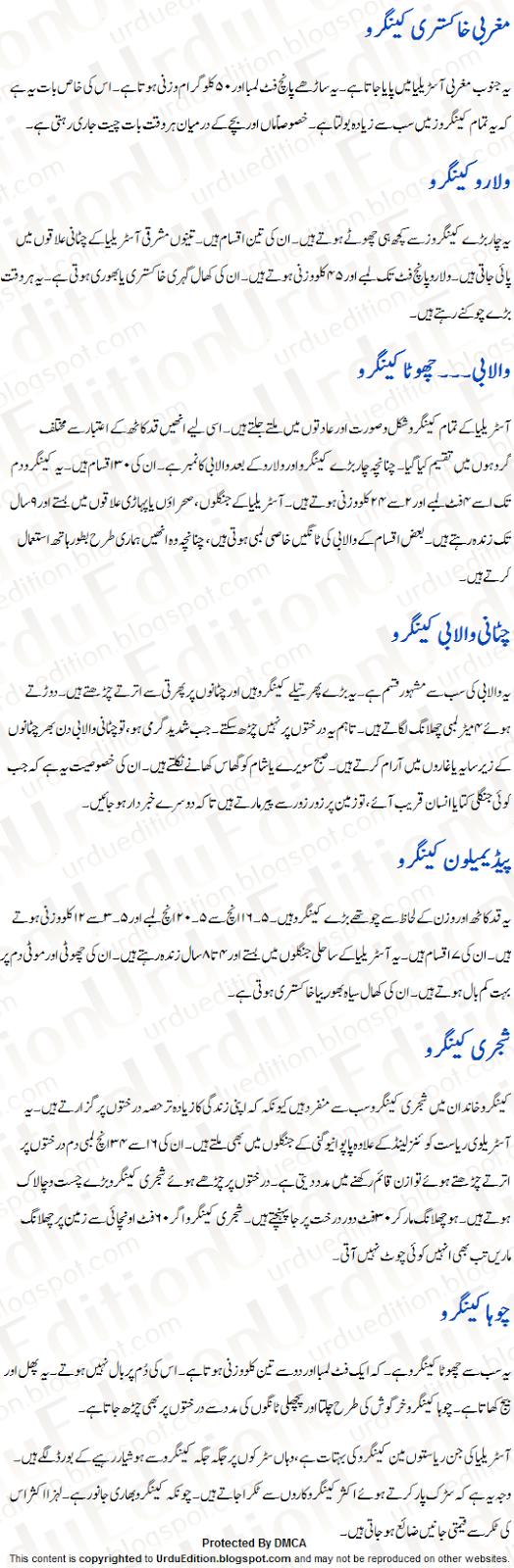 essay on zoo in urdu language