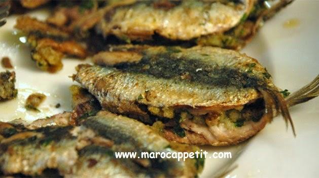 Sardines marinées au four | Marinated sardines baked