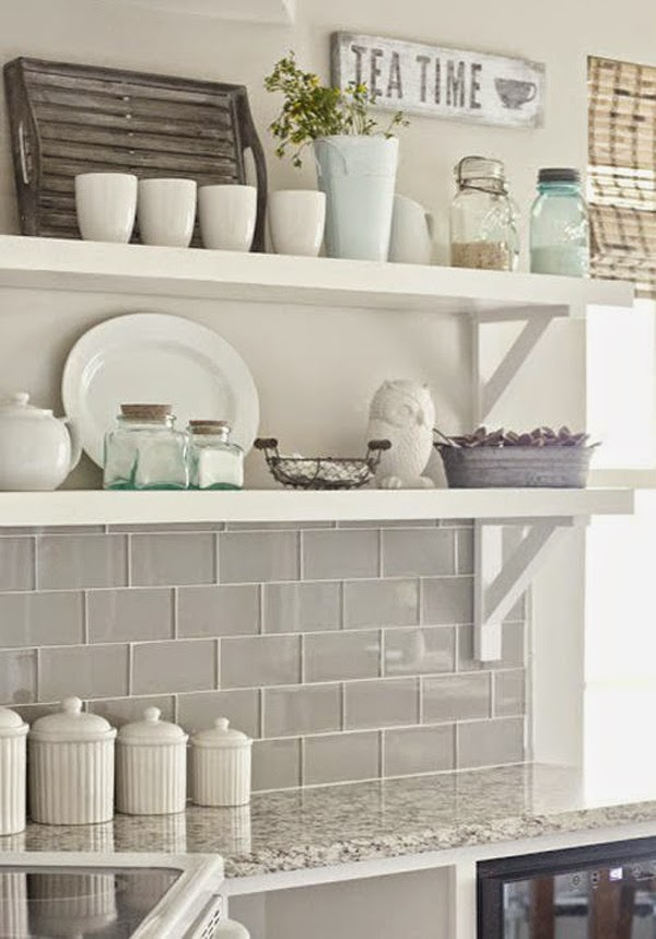 Ideas deco diversas opciones de subway tile para decorar for Azulejo blanco biselado cocina