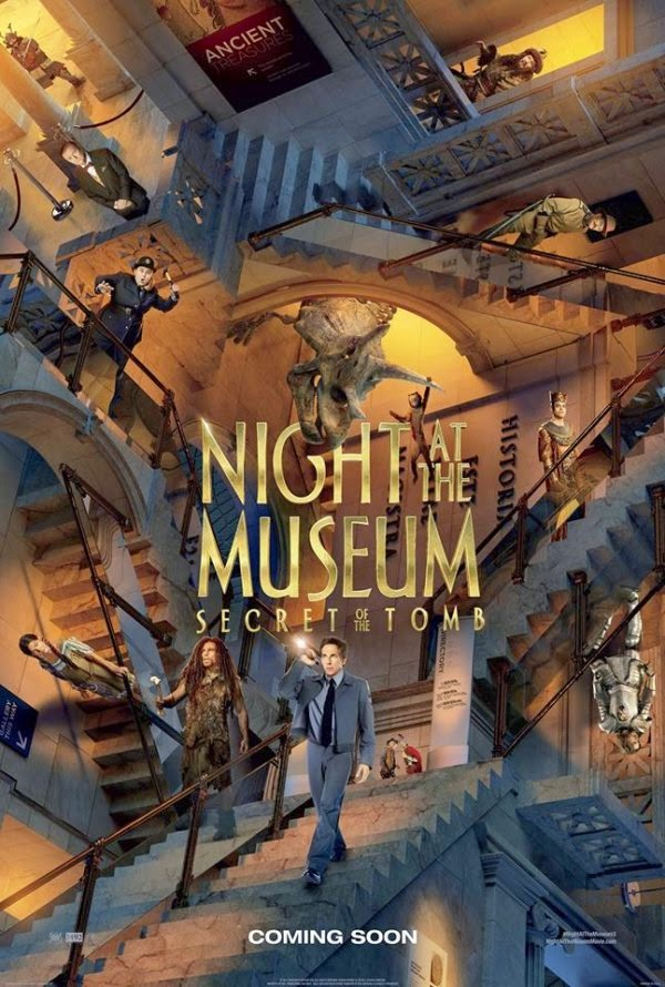 Film Night at the Museum: Secret of the Tomb 2014 di Bioskop