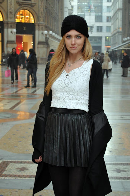 lace top, theblondesalad by chiara ferragni