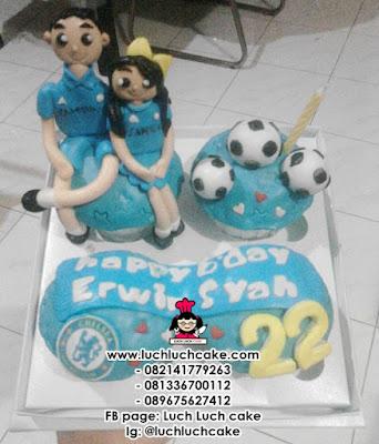 Cupcake Chelsea Couple Daerah Surabaya - Sidoarjo