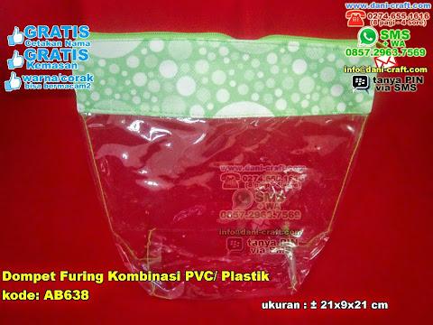 Dompet Furing Kombinasi Pvc Plastik