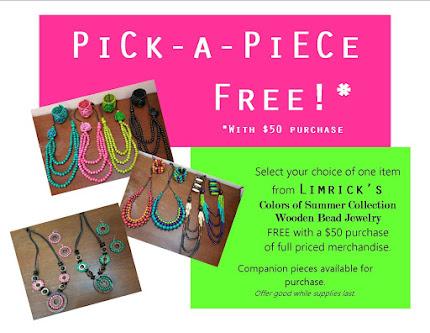 Pick a Piece Free!
