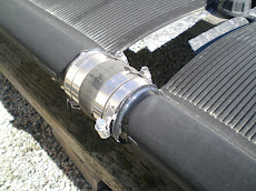 Solar Pool Heater Leak Repair