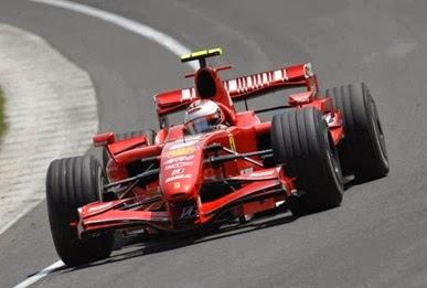 Formula 1 2007 Kimi Raikkonen/ Ferrari