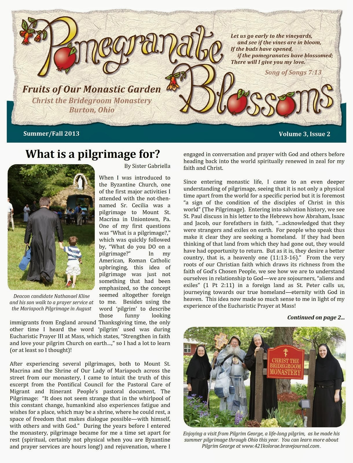 Summer/Fall Newsletter