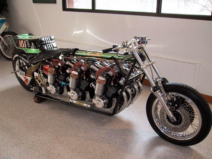 Gambar Modifikasi Motor Drag