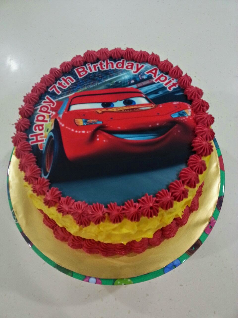 Edible Cake Images Cars : Zeti Hot Oven: 365 Hot Oven : Edible Cars SMBC Cake
