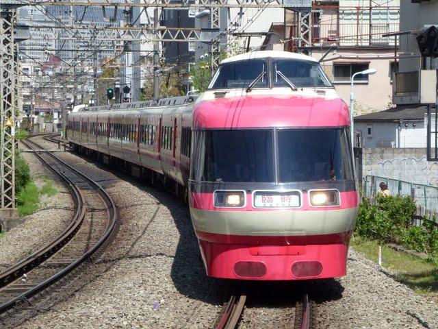 小田急電鉄 特急ロマンスカー臨時61号 箱根湯本行き LSE7000形