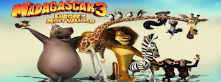 couverture facebook 3d madagascar3
