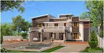 Evens Construction Pvt Modern Kerala House Plan