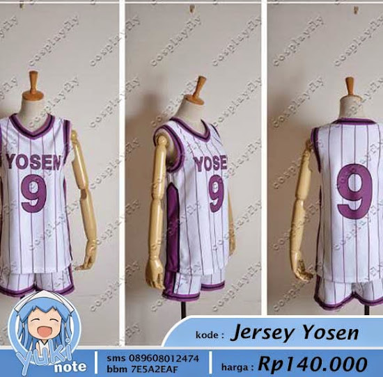 Jual Jersey All Kuroko No Basuke Yosen