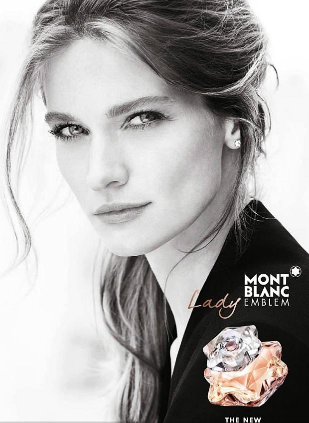 Reklama perfum Mont Blanc Lady Emblem