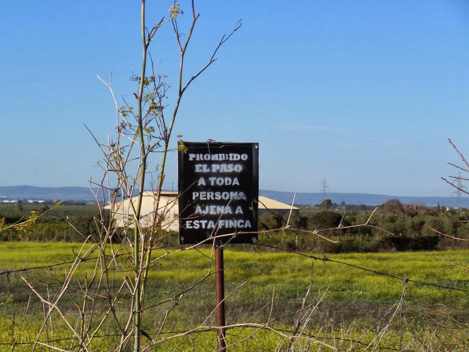 FOTO DENUNCIA: Apropiación del Camino de San Agustín (Antiguo Camino de Pero Mingo).