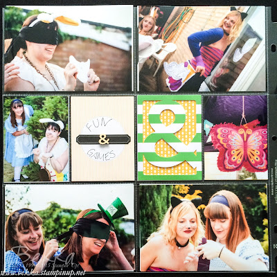 Ellie in Wonderland - Capturing An Amazing Day using Project Life by Stampin' Up! UK