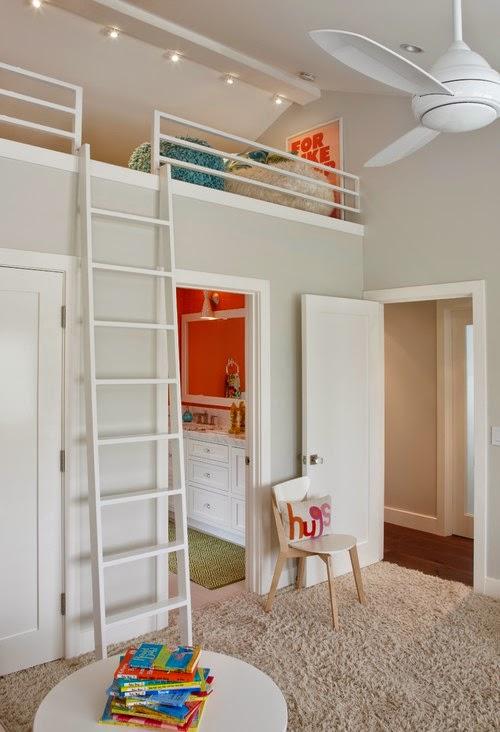 افضل ثلاث افكار غرف نوم اطفال للمنازل الضيقه