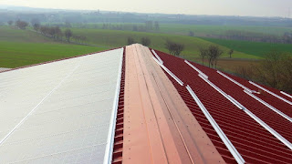 Solar Panels Energy Farm in Germany