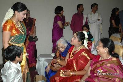 Director Selvaraghavan and Geethanjali Wedding Stills film pics