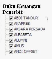 Jual Buku Keuangan Penerbit Alfabeta, Andioffset, Alumni Murah