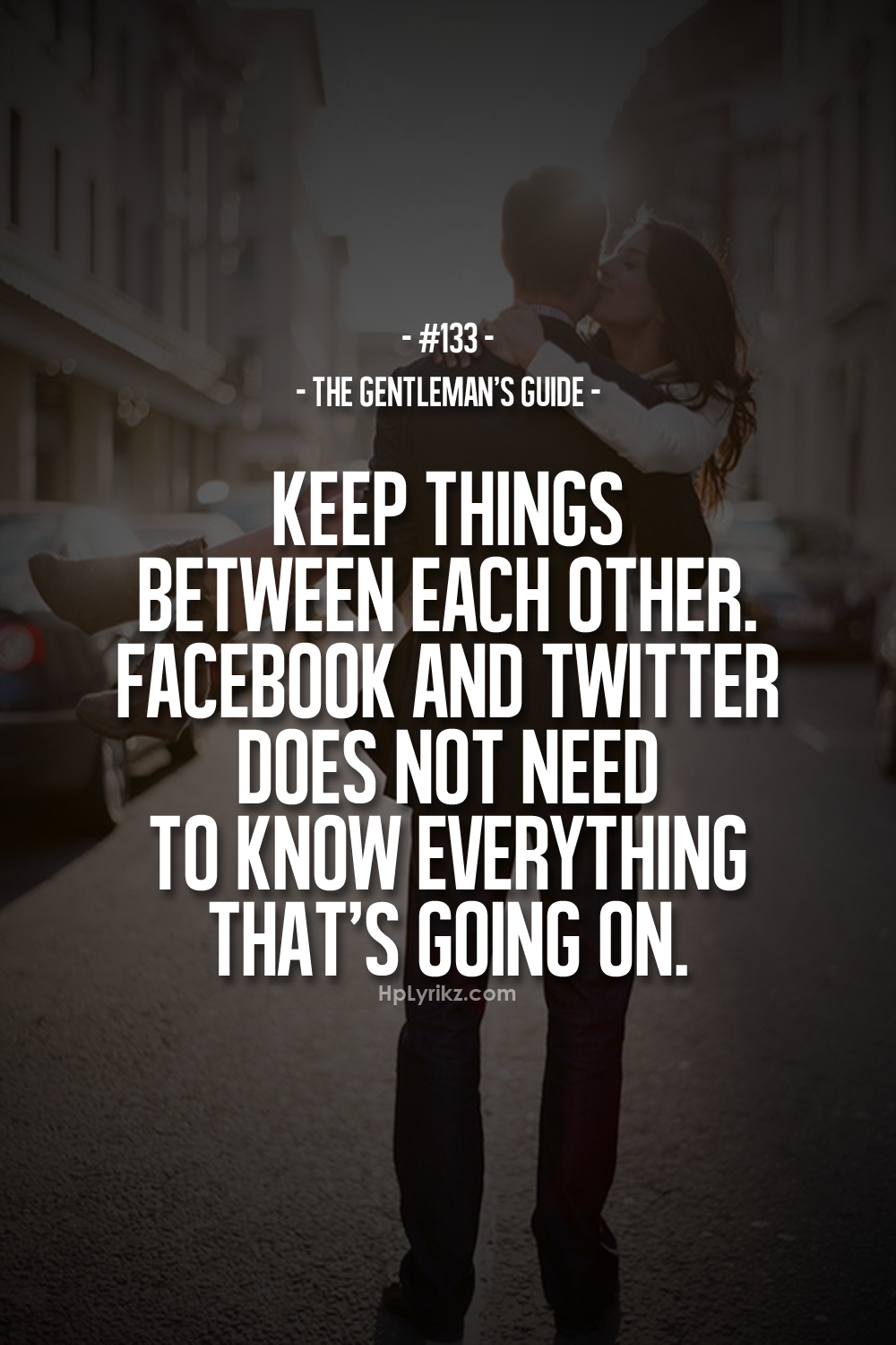 Quotes About Love Tumblr 2015 : Keep things between each other.Facebook and Twitter does not need to ...