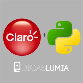 NET Grátis na Claro com o QPython
