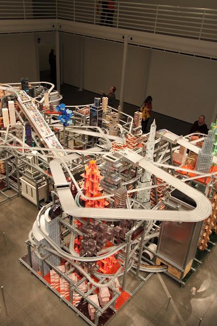 Chris Burden's Metropolis II, LACMA Los Angeles County Museum of Art