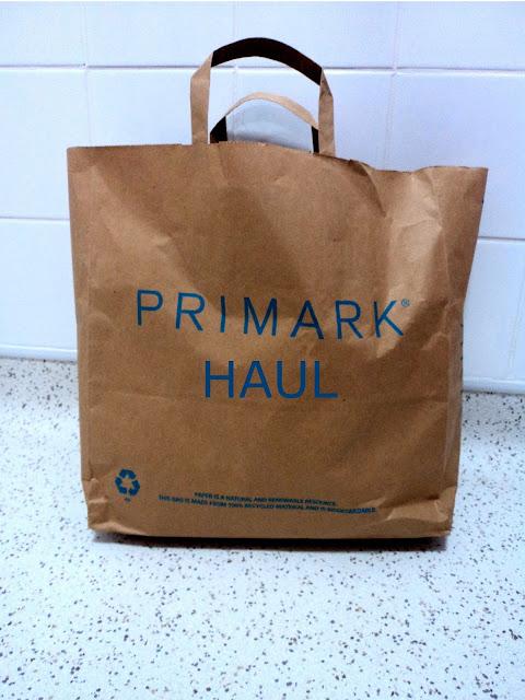 Primark Haul Bag