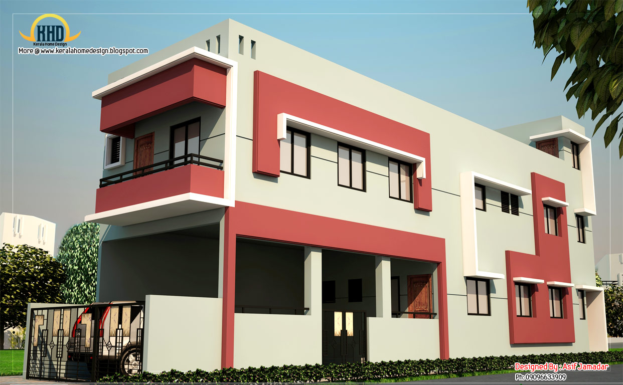 long house elevation 2360 sq ft kerala home design and floor plans
