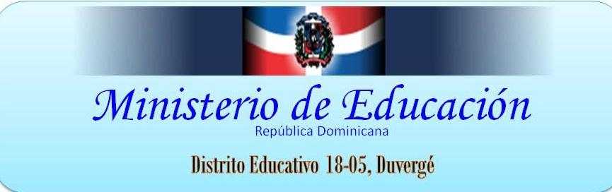 Distrito Educativo 18-05