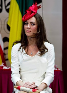 Kate, Duchess of Cambridge, listens to proceedings during a citizenship ceremony Friday, July 1, 2011, in Gatineau, Canada.