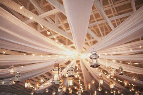 iluminación faroles boda