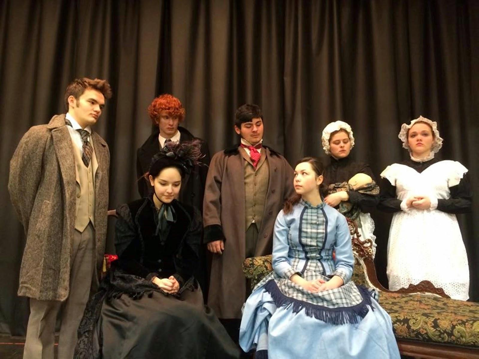 The Lisbon Reporter Lisbon High School Drama Club To Perform A
